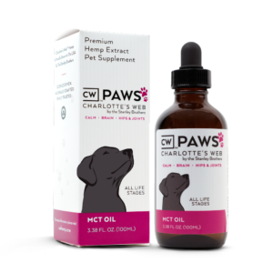 charlottes web paws hemp extract (cbd product) for dogs