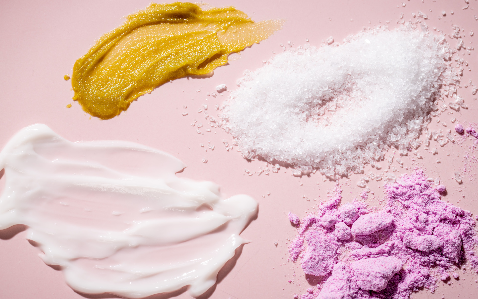 Types of topicals, cream, bath products, lube,