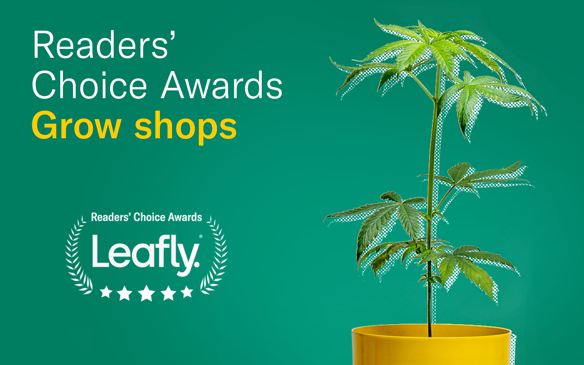 leafly canada readers choice awards favourite grow shop
